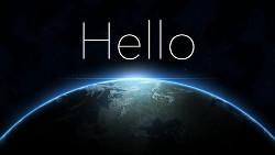 Hello World çok klasik ama